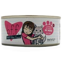 Weruva Best Friend Feline (BFF) Tuna and Bonito be Mine 12/3 oz Tray