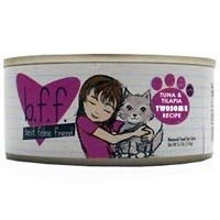 Weruva Best Friend Feline (BFF) Tuna and Tilapia Twosome 12/3 oz Tray