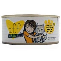 Weruva Best Friend Feline (BFF) Tuna and Chicken 4Eva 12/3 oz Tray