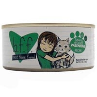 Weruva Best Friend Feline (BFF) Tuna and Veggies Valentine 8/5.5 oz Tray