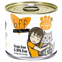 Weruva Best Feline Friend (BFF) Tuna & Salmon Soulmates, 12/10 oz.