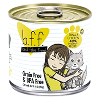 Weruva Best Feline Friend (BFF) Tuna & Chicken 4-Eva, 12/10 oz.