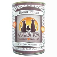 Weruva Steak Frites Canned Dog Food, 14 oz.
