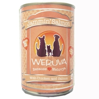 Weruva Jammin Salmon Canned Dog Food, 14 oz.