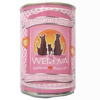 Weruva Amazon Liver Canned Dog Food, 14 oz.