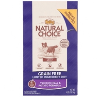 Nutro Natural Choice Grain Free Venison and Potato, 6/4 Lb