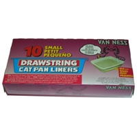 Van Ness Drawstring Liner 10 Pack Small