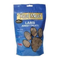 Real Meat Dog Jerky Treats Lamb 4oz
