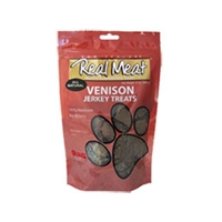 Real Meat Dog Jerky Treats Venison 12oz