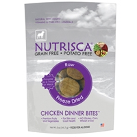 DOGSWELL® 5 oz NUTRISCA® Raw Freeze Dried Bites Chicken