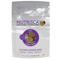 Dogswell 14 oz Nutrisca® Freeze Dried Chicken Dinner Bites