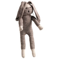 Multipet Sock Pals Small Rabbit 10""