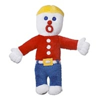 Multipet Mr. Bill Plush Dog Toy 11""