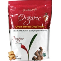 Grandma Lucy's Organic Baked Ginger Dog Treats