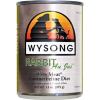 Wysong Cat/Ferret All Meat Rabbit 12/13Oz