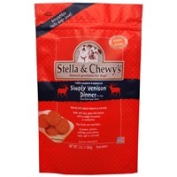 Stella and Chewy's 3# Frozen Simply Venison Dinner