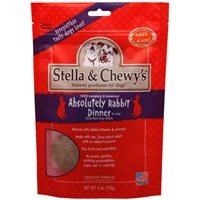 Stella and Chewy's 6 oz. Freeze-Dried Absolutely Rabbit Dinner