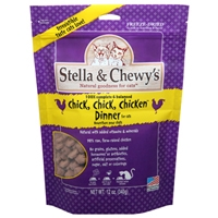 Stella & Chewy's Freeze Dried Chick, Chick, Chicken Dinner Morsels for Cats, 3.5 oz.