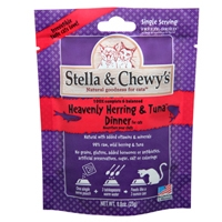 Stella & Chewy's 0.8 oz Freeze Dried Heavenly Herring & Tuna Dinner for Cats