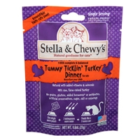 Stella & Chewy's Freeze Dried Tummy Ticklin' Turkey Dinner Morsels for Cats, 9 oz.