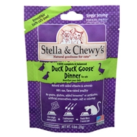 Stella & Chewy's Freeze Dried Duck Duck Goose Dinner Morsels for Cats, 3.5