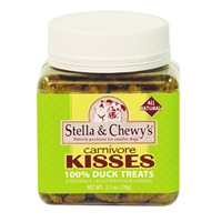 Stella & Chewy's Carnivore Kisses Freeze Dried Duck Treats 2.75 oz.