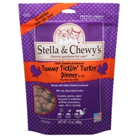 Stella & Chewy's 12 oz Freeze Dried Tummy Ticklin' Turkey Dinner for Cats