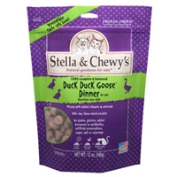 Stella & Chewy's Freeze Dried Duck Duck Goose Morsels for Cats, 9 oz.