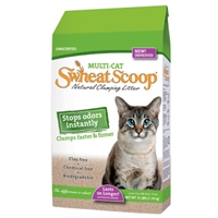 Swheat Scoop Multi-Cat Litter 25 lb. Bag