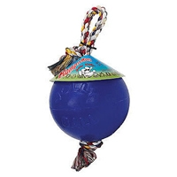 Jolly Pets Romp-N-Roll Blue 4.5""