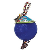 Jolly Pets Romp-N-Roll Blue 8""