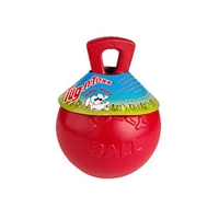 Jolly Pets Tug-N-Toss Red 6""