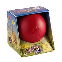 Jolly Pets Teaser Ball Red 4.5""
