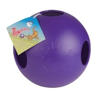 Jolly Pets Teaser Ball Purple 8""