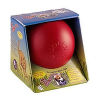 Jolly Pets Teaser Ball Red 8""