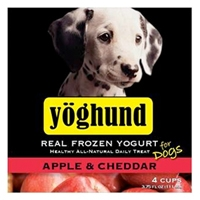 Yoghund Apple & Cheddar Natural Yogurt 4 Pack