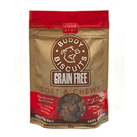 Grain Free Soft & Chewy Buddy Biscuits Dog Treats - Slow Roasted Beef