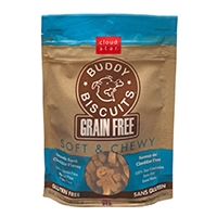 Grain Free Soft & Chewy Buddy Biscuits Dog Treats - Smooth Aged Cheddar
