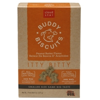 Cloud Star Itty Bitty Buddy Biscuits Peanut Butter 8 oz.