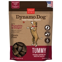 Dynamo Dog Functional Treats: Tummy - Pumpkin & Ginger 5 oz