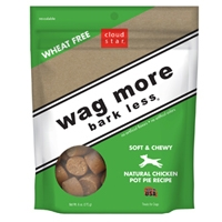 Cloud Star Wag More Bark Less Soft & Chewy Dog Treats  - Chicken Pot Pie