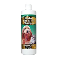 NaturVet Herbal Flea Shampoo 16oz