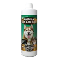 NaturVet Septiderm-V Bath 8 ounces