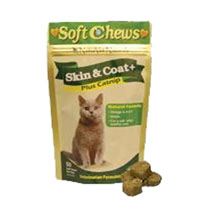 NaturVet Soft Chew Skin & Coat Cat 50 Count