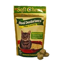 NaturVet Soft Chew Stool Deodorizer Cat 50 Count