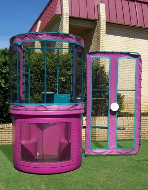 350 Gallon Dunk Tank (With Window)