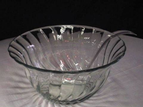 3 Gallon Glass Punch Bowl