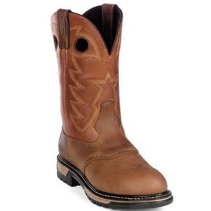 Rocky Branson Saddle Roper Waterproof Western Boot
