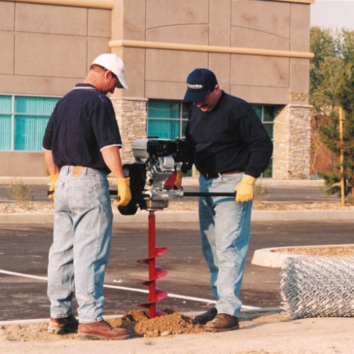 2 Man Post Hole Auger