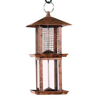 Audubon® Double Tower Metal Bird Feeder